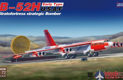 UA72208 Modelcollect B-52H early type Stratofortress strategic Bomber limit Ver