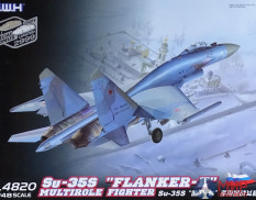 L4820 Great Wall Hobby 1/48 Su-35S Flanker E Multirole Fighter