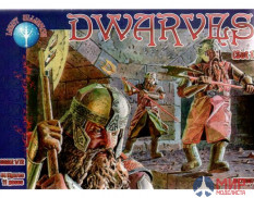 ALL72007 Dark Alliance 1/72 Dwarves set 1