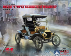 24016 ICM Model T 1912 Commercial Roadster, Американский автомобиль