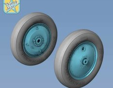 Ns72141-b North Star Models 1/72 Wheels set for Soviet Polikarpov I-16 Light series