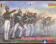 STR039 Strelets*R Фигуры Crimean Russian Grenadiers