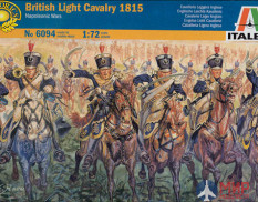 6094 Italeri фигуры  British Light Cavalry 1815  (1:72)