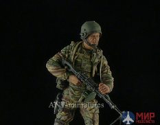 35-026 ANT-miniatures 1/35 Пулеметчик спецназа ФСБ