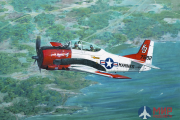 ROD441 Roden 1/48 Airplane North American T-28B