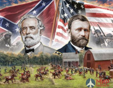 6179 Italeri Набор миниатюр FARMHOUSE BATTLE - American Civil War 1864 - BATTLE SET (1:72)