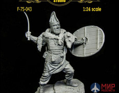 F-75-043 Altores studio 75mm Фигура ДАКИЙСКИЙ ВОИН Dacian Warrior  ( 1:24 ) Resin Kit