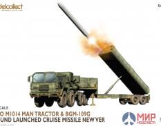 UA72328 Modelcollect Nato M1014 MAN Tractor & BGM-109G Ground Launched Cruise Missile new Ver