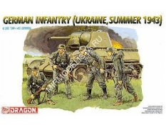 6153 Dragon фигуры  German Infantry (Ukraine, Summer 1943)  (1:35)