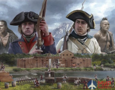 6180 Italeri Набор миниатюр THE LAST OUTPOST 1754-1763 FRENCH AND INDIAN WAR - BATTLE SET (1:72)