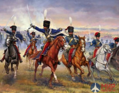 6188 Italeri фигуры BRITISH 11th HUSSARS (1:72) INDIAN WAR - BATTLE SET (1:72)