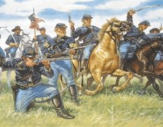 6013 Italeri 1/72 Union Cavalry