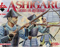 RB72006 Red Box 1/72 Ashigaru (Archers and Arquebusiers)