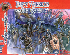 ALL72014 Dark Alliance 1/72 Heavy Warriors of the Dead Cavalry