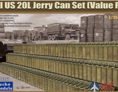35GM0036 Gecko Models 1/35 WWII US 20L Jerry Can Set