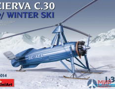41014 MiniArt CIERVA C.30 WITH WINTER SKI