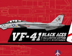 "S7202 Great Wall Hobby 1/72 US Navy F-14A VF-41 ""Black Aces"""