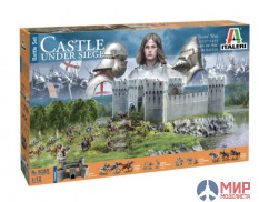 6185 Italeri миниатюра  CASTLE UNDER SIEGE - 100 Years' War 1337/1453 - BATTLESET  (1:72)
