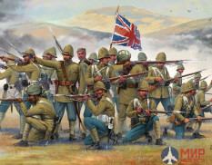 6187 Italeri фигуры BRITISH INFANTRY AND SEPOYS (1:72)