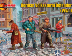 MR72117 MARS WWII German Volkssturm Defenders 1/72 Набор фигур