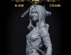 B-039 Altores Studio 1/10 Бюст Лучница Archer Resin kit