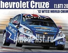082997 Aoshima 1/24 CHEVROLET CRUSE(1.6T) '12 WTCC WORLD CHAMPION