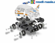 00805 Revell автомобиль  Rescue Car Junior Kit