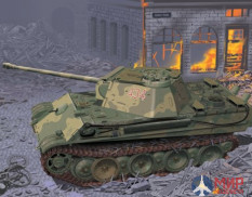 6897 Dragon танк Panther G w/ADDITIONAL TURRET ROOF ARMOR 1/35
