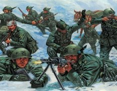 6059 Italeri 1/72 Italian Mountain Troops Alpini
