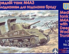 UM1-216 UM 1/72 Танк M4A3 with Deep Wading Trunks