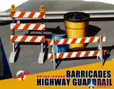 SPS-013 Meng Model 1/35 Barricades & Highway Guardrail Set