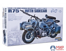 L3510 Great Wall Hobby 1/35 WWII German BMW R75