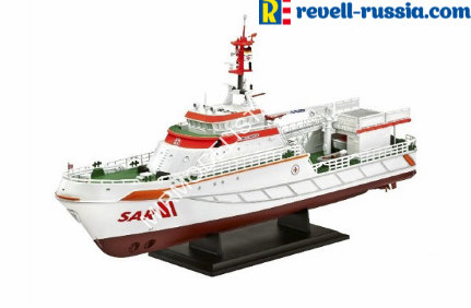 05211 Revell корабль  Seenotkreuzer Search and Rescue Vessel Berlin  (1:72)