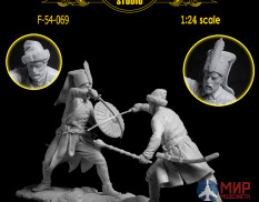 F-54-069 Altores Studio Don Cossack vs Janissary 17 century