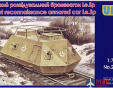 UM1-257 UM 1/72 Броневагон Light reconnaissance armored car Le.Sp
