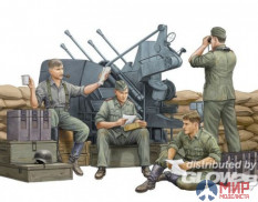 00432 Trumpeter 1/35 Солдаты German Anti-Aircraft Gun Crew