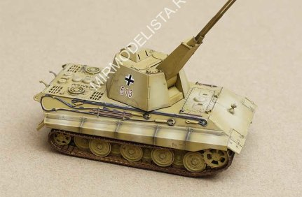 AS72023 Modelcollect 1/72 German WWII E-75 Flakpanzer with FLAK 55, 1945