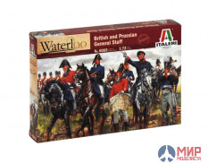 6065 Italeri 1/72 WATERLOO (200years) BRITISH & PRUSSIAN GEN.ST.