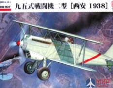 "499138 Fine Molds 1/48 Самолеты IJA Type95 Ki-10-II ""PERRY"" ""Flying Over XIAN, CHINA1938"""