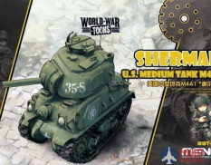 WWT-002 Meng Model U.S. MEDIUM TANK M4A1 SHERMAN