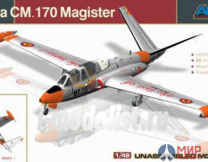 88004 AMK 1/48 Fouga CM.170 Magister - French Two-seat Jet Trainer