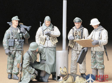 35212 Tamiya 1/35 Фигуры German Soldiers At Field Briefing
