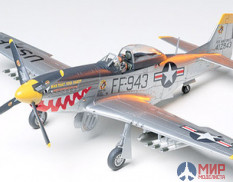 61044 Tamiya 1/48 Самолет P-51d mustang  Korean War