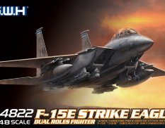 L4822 Great Wall Hobby 1/48 F-15E Strike Eagle Dual-Roles Fighter