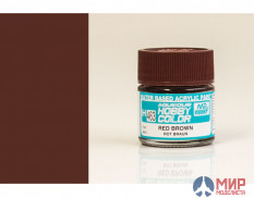 H463 Gunze Sangyo (Mr. Hobby) Paint 10ml 2 RED BROWN red brown 2