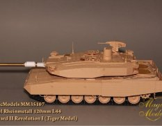 MM35167 Magic Models Rheinmetall Rh 120mm L/44. Leopard II Revolution I (Tiger Model) 1/35