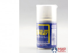 S151 Gunze Sangyo Paint in aerosol cans MR.HOBBY 100ml WHITE PEARL
