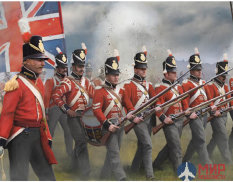 STR145 British Infantry in Attack Фигуры Strelets *R