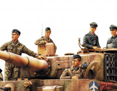 84401  Hobby Boss фигуры German Panzer Tank Crew (Normandy 1944)  (1:35)