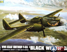 L4806 Great Wall Hobby 1/48 WWII USAAF Northrop P-61A 'Black Widow' Glass Nose